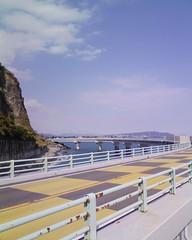 大崩海岸 石部海上橋