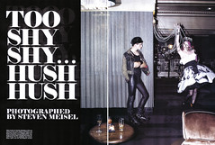 TOO SHY HUSH HUSH | STEVEN MEISEL | VOGUE IT | OCT 2009