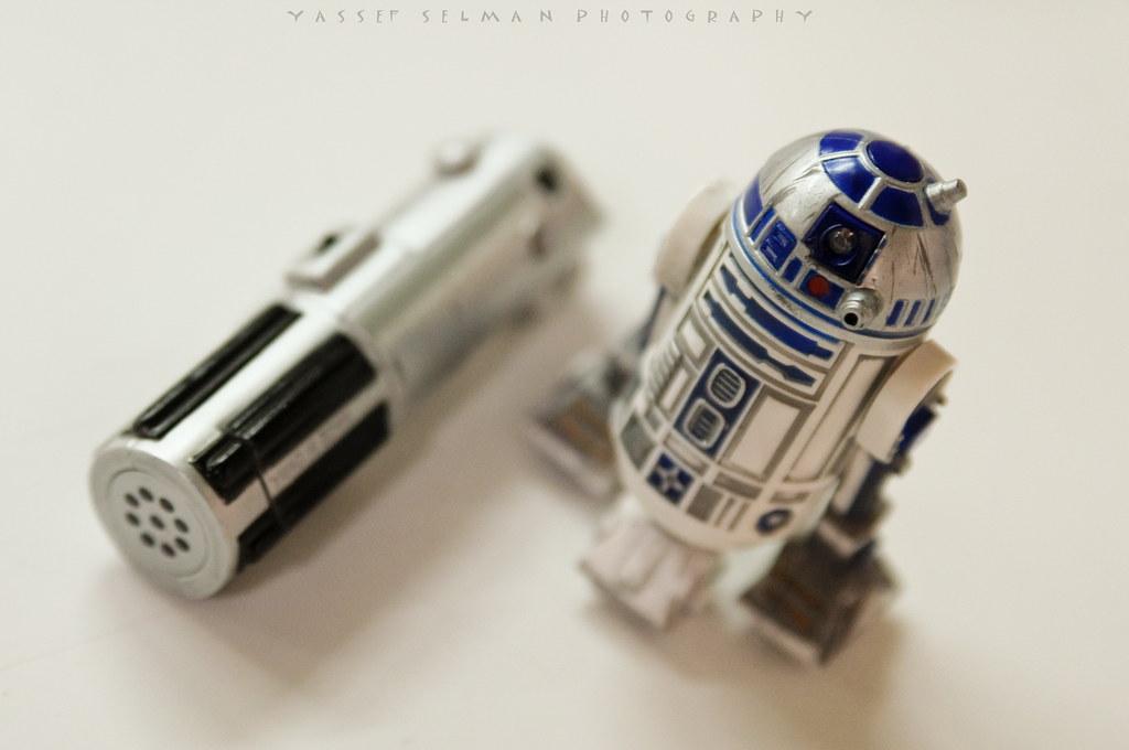 R2-D2 & control remoto