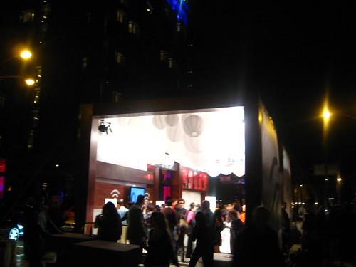 Coke & Delta Tent