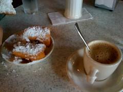 Coffee & beignets...