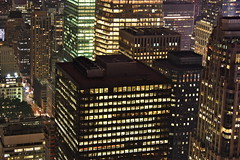 New York view_2 (Fotis Korkokios) Tags: city nyc newyorkcity urban usa newyork night america buildings lights view manhattan unitedstatesofamerica citylights metropolis empirestatebuilding bigapple offices urbanphotography urbanenvironment biglight canon450d fostis cityoverview canoneosdigitalrebelxsi fotiskorkokios