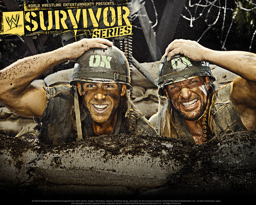 wwe survivor series 2009 stolen thoughts
