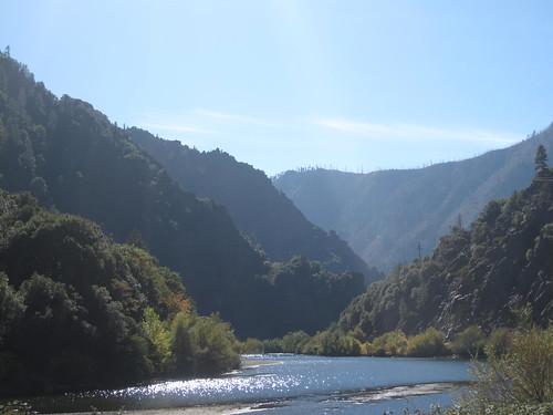 Biking over the Sierra Nevadas