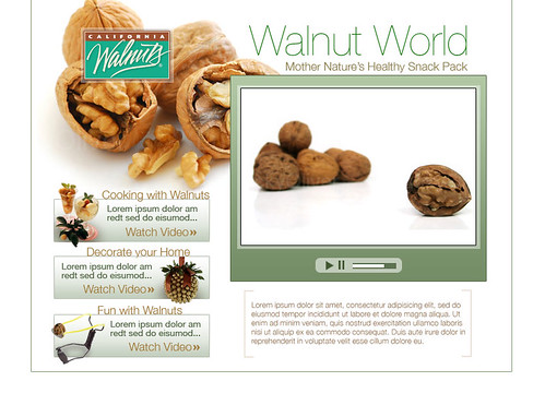 Walnut World Landing Page