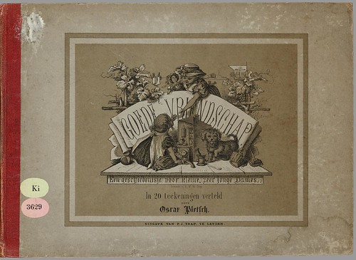 Goede vriendschap by Oscar Pletsch, 1870