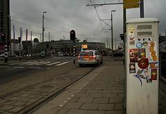 The Hague, Holland (Crimson Cisa) Tags: streetart holland face soldier graffiti starwars sticker stickers thenetherlands denhaag camo josh trainstation noid adhesive zeta shepardfairey thehague sith cisa straatkunst noke obeythegiant onimaru mrcisa crimsoncisa darthcisa
