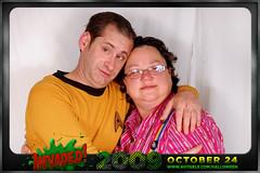 Karl Bubblewench (avitable) Tags: costumes party halloween alien invasion invaded avitaween avitaween2009