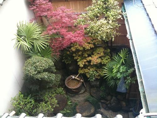 寺田屋の裏庭