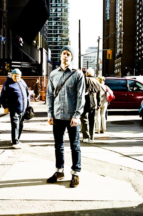 Jean, Toronto Street Fashion @ Bloor St. W., Toronto, whatsyourpersona, krist papas