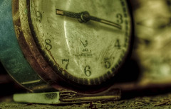 9:17 [Explore] (futhark) Tags: old white cinema black detail green texture clock film up closeup vintage dark movie high kino rust mood dof close dynamic time decay watch dramatic like atmosphere cine number textures numbers crop reloj cinematic drama range hdr highdynamicrange textured zeit tiempo numb3rs