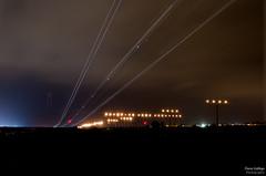 Airport of Malaga/ LEMG (O.Gallego) Tags: oscar nikon nocturna ryanair base málaga manfrotto larga exposición gallego lemg x190 d7000 mygearandme