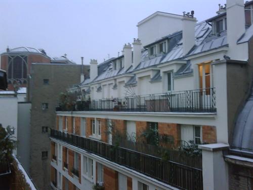 terrace of unit 5f, villa guelma, paris