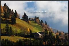 Alpine Abundance (our cultural archive) Tags: mist alps fall nature beauty clouds landscape austria countryside alpine solitary abundance cate otw copenhaver cameraneverlies oarsquare