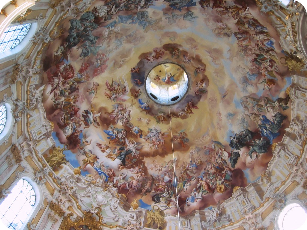 Dome of Monastery Ettal