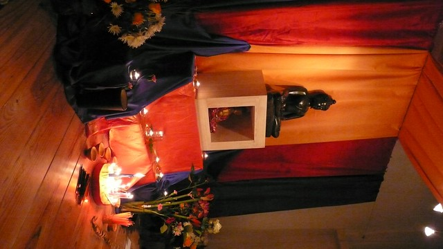 Amsterdam Buddhist Centre shrine