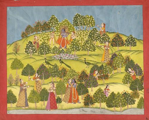 012- Pintura india siglos XVIII- XIX