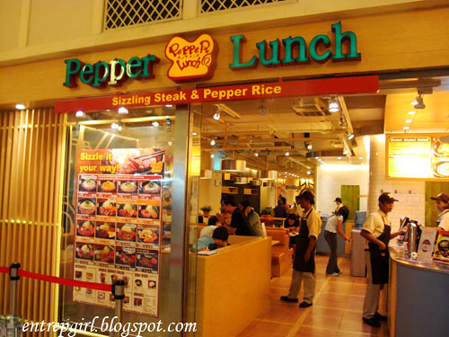 Pepper Lunch facade