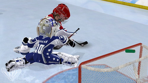 3 on 3 NHL Arcade screenshot - BrodeurW