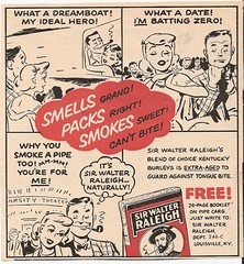 TOBACCO AD FROM FARM JOURNAL 1958. (roberthuffstutter) Tags: pipes smoking royalty mudpuddle louisvilleky truegentlemen pipetobacco pipesmokers smokersrights huffstutter tobaccotaxes keepgovernmentaway pipesmokiersstillalive artofpipesmoking legendofcapeandqueen noblegestures tobaccoinhistory