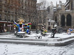 Igor Stravinsky Place With Snow