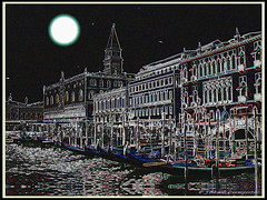 VENEZIA FANTASY (FIORASO GIAMPIETRO ITALY....) Tags: travel venice italy by night europe laguna venezia viaggio vacanza veneto fioraso fiorasogiampietro