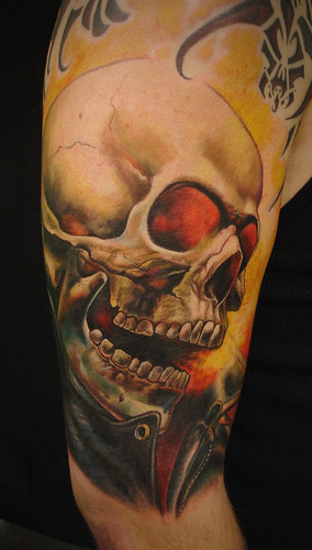 ghostrider skulls are cool. this was