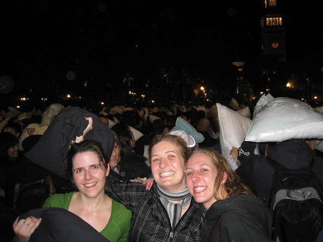 San Francisco Valentines Day Pillow Fight 2009