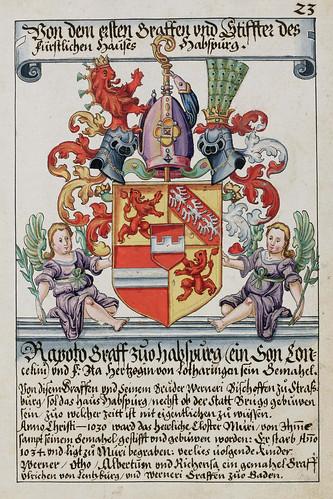 004- Escudo de armas del fundador y primer conde de la Casa de Hansburgo-saa-V4-1985_023r