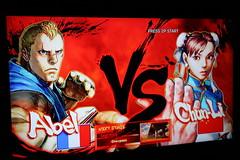 Abel vs. Chun-Li (Jemlnlx) Tags: street 2 3 canon lens eos screenshot fighter mark 4 ii di 5d abel tamron playstation iv f28 xr chunli ps3 gameplay 2875mm