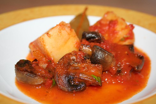 Pilze in der Kasserolle   Μανιτάρια στιν Κατσαρόλα