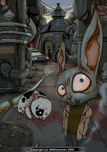 1000tentacles作品/经典插画