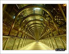 Japan Bridge - Kurokawa (JP2H) Tags: bridge paris france japan seine architecture modern de la arquitectura contemporary moderne architektur pont parizs brücke francia 92 parijs moderna défense parigi puteaux kurokawa passerelle hauts franckreich contemporaine