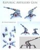 Repart (Rogue Bantha) Tags: starwars republic lego mini clonewars republicartillerygun