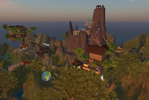 EcoCommons in Second Life