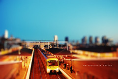 this moment train station (Perseverance Photo) Tags: film station train lens style melbourne software moment d80
