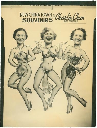 Cutout - three dancers