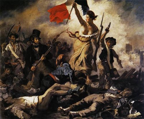 _La liberté guidant le peuple (Eugène Delacroix)