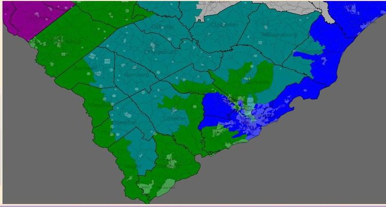South South Carolina