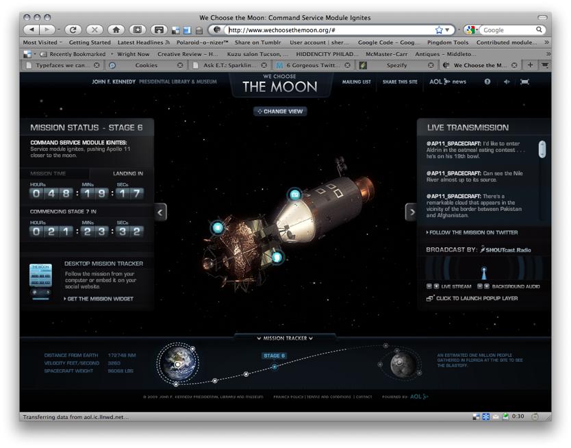 We Choose the Moon_ Command Service Module Ignites