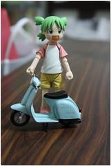 My scooter (happydoggy) Tags: yotsuba megahouse littlecafe revoltech
