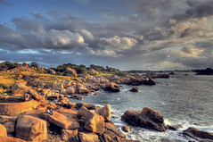 In love with the sunset (Greg 50) Tags: sunset brittany bretagne paysage hdr perrosguirec ploumanach ctedegranitrose francelandscapes fbdg