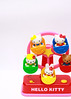 Hello Kitty and friends - Let's take a ride. (Dave Ng Photography) Tags: hello blue red green wheel yellow catchycolors toy hellokitty kitty ferris fifi mimmy