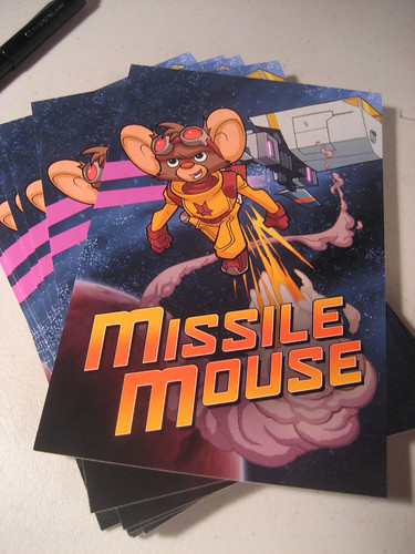 Missile Mouse Postcards