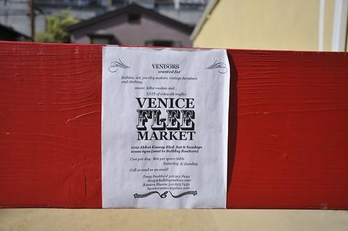 Abbot Kinney Blvd Flee Market