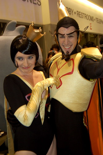 Comic Con 09: Mr. And Dr. Mrs The Monarch