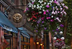 La Luna (janusz l) Tags: geotagged evening luna medallion gastown oldtown waterstreet laluna hdr janusz leszczynski geo:lat=49284124 geo:lon=123107321 015443