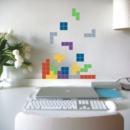 tetris stickers