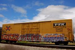 Best Shot Of Her So Far... (All Seeing) Tags: graffiti left ibox deface rukes allseeing ttx ase twb whistleblower dicer ruke cohe mrleft cohee sekur sworne ruek