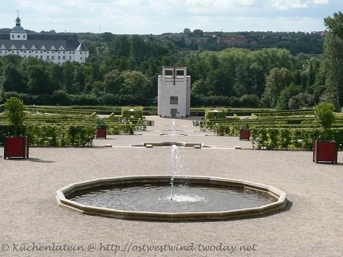 Barockgarten mit Globushaus Schleswig